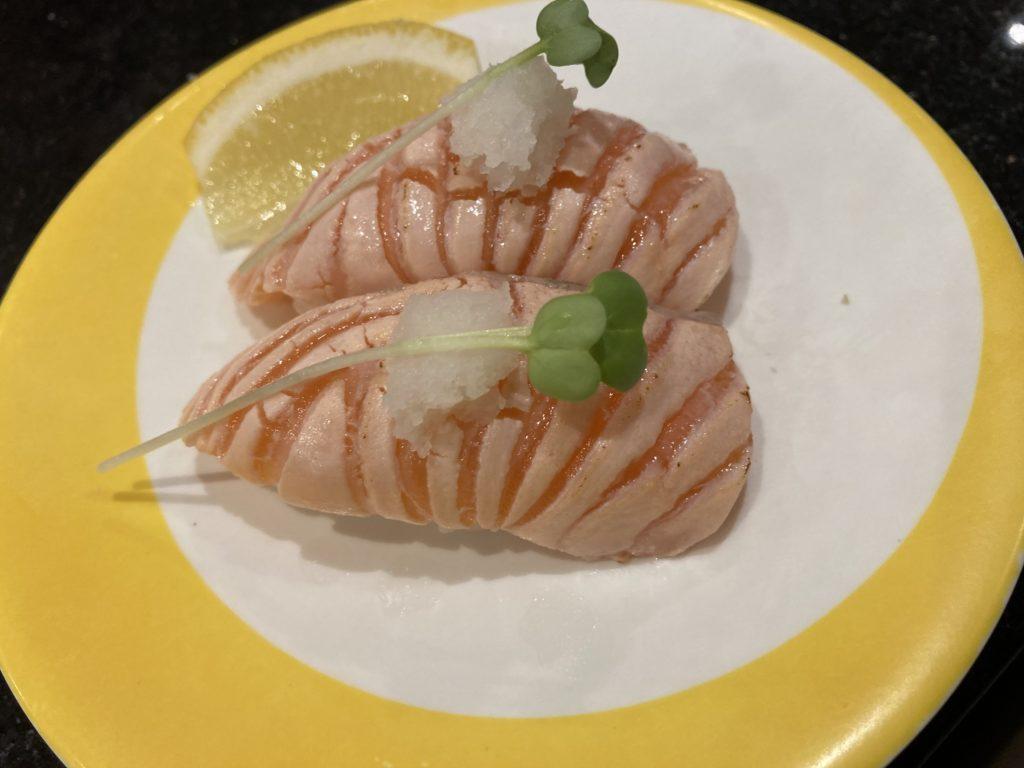 炙りサーモン寿司