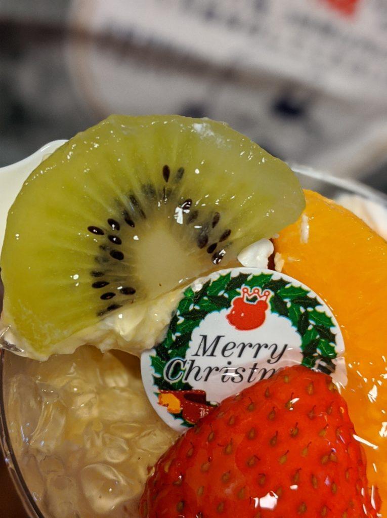 クリスマス用デザートプリン