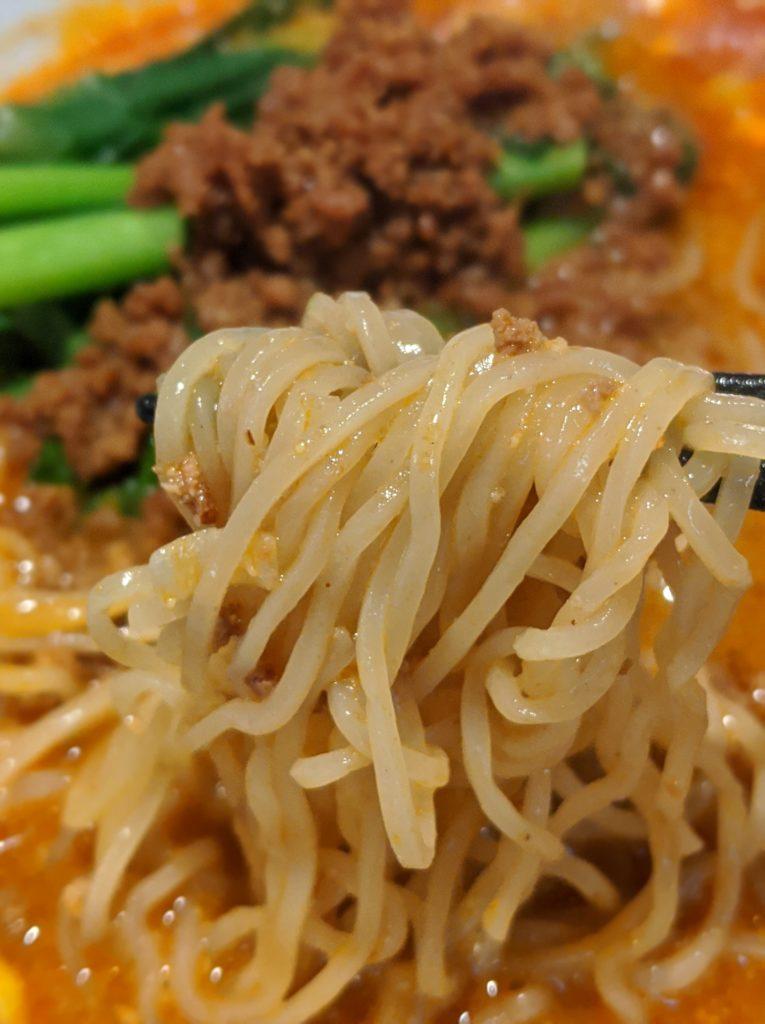 担々麺とクッパセット