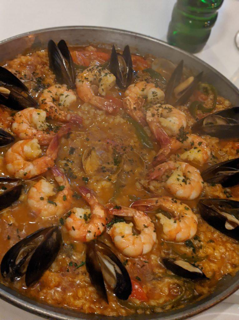 tatoスペイン料理パエリア