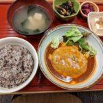 定食屋「soto」チーズハンバーグ定食