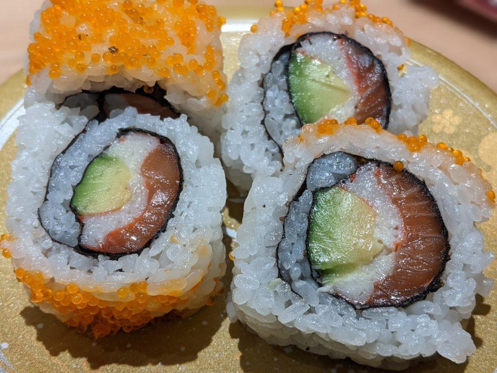モリモリ寿司アボガド創作寿司