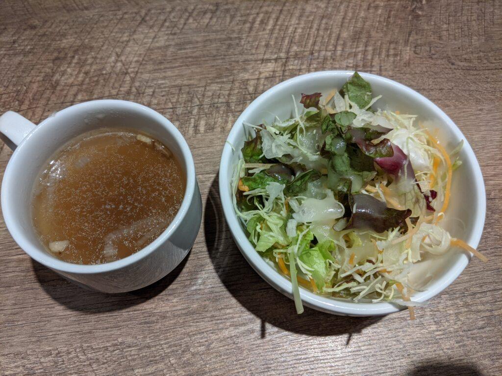 スープサラダ