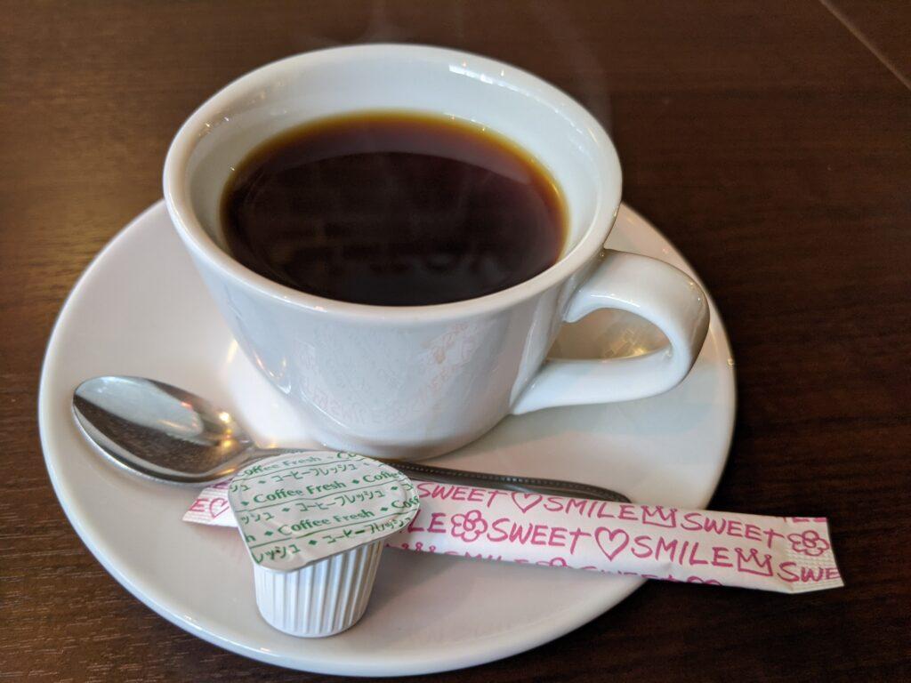 タンドリーチキン付きカレーセットコーヒー