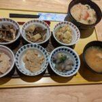 湯葉丼とおばんざいセット