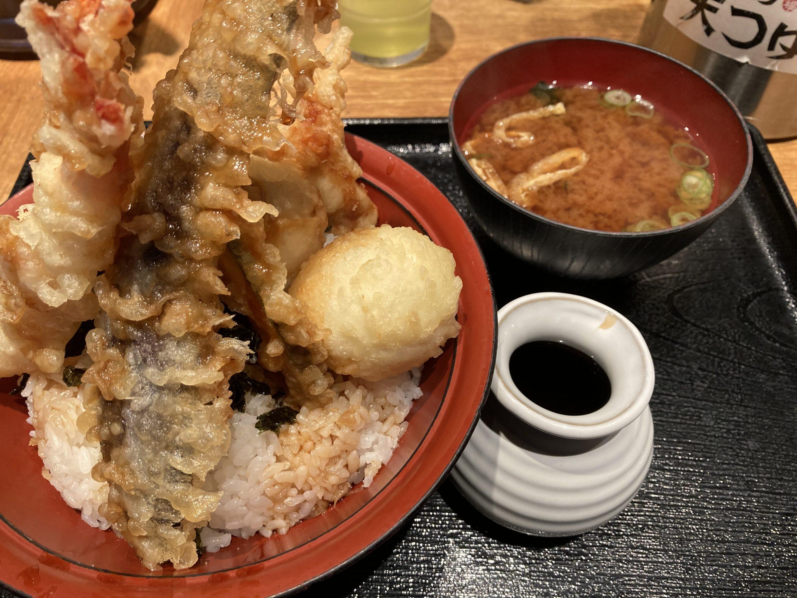 天ぷら米福天丼